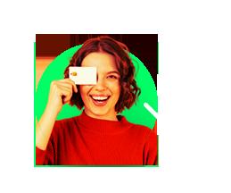 Transferências ou boletos parcelando no seu cartão de crédito